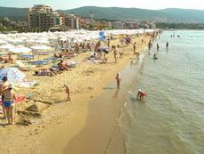 Плажовете на Слънчев Бряг