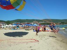 Слънчев Бряг - Плажни забавления и атракции