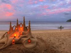 Слънчев Бряг - Арт на плажа
