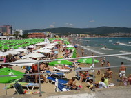 Sunny Beach, a tourist destination